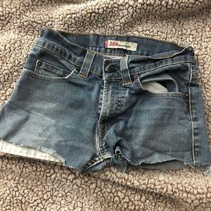 Levi's 506 Urban Renewal Denim Shorts